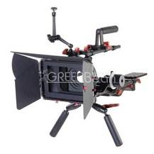 Плечевой упор для видеокамеры GreenBean DSLR RIG 01 PRO карбон